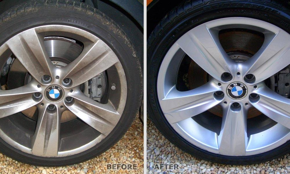 WE DO ALL TYPE OF WHEEL RESTORATION WORK - CHROMING / SANDBLAST / POWDER COTION ETC.,