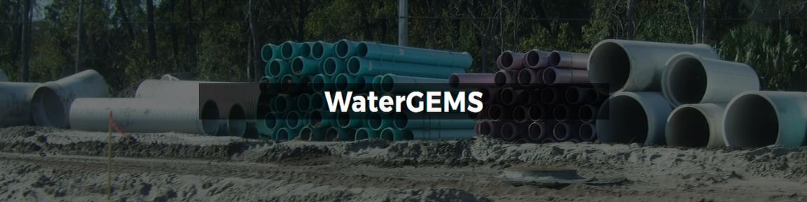 WaterGEMS provides you with a comprehensive yet easy-to-use decision-support tool for water distribution networks. The software helps improve your knowledge of how infrastructure behaves as a system, how it reacts to operational strategies, and how it should grow as population and demands increase. From fire flow and water quality simulations, to criticality and energy cost analysis, WaterGEMS has everything you need in a flexible multi-platform environment. Read more body content will visible when click on read more link Read more link to show and hide read more body content CAPABILITIES Analyze pipe and valve criticality Find the weak links in water distribution systems and assess the adequacy of isolation valves. Evaluate the ability to isolate portions of the system and serve customers using different valve locations. WaterCAD/WaterGEMS automatically generates network segments once the isolation valve data is supplied.Assess fire flow capacity Use a water distribution hydraulic model to access and identify where fire protection is inadequate. Design improvements such as the sizing and location of pipes, pumps, and tanks in order to meet fire-flow and protection requirements.Build and manage hydraulic models Jumpstart the model-building process and manage your model effectively, so that you can focus on making the best engineering decisions. Leverage and import virtually any external data format, which maximizes ROI on geospatial and engineering data, and automate terrain extraction and node allocation.Design water distribution networks Use hydraulic model results to help optimize the design of complex water distribution systems and utilize built-in scenario management features to keep track of design alternatives. Alternatively, WaterGEMS users can optimize the design for you using the built-in Darwin Designer network optimization tool.Develop flushing plans Optimize flushing programs with multiple conventional and unidirectional flushing events in a single run.