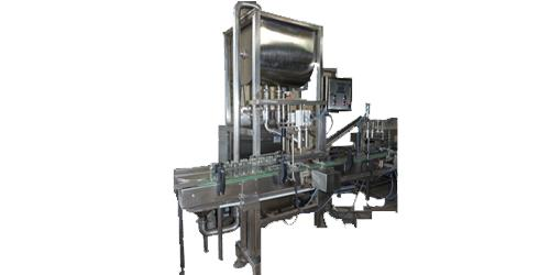 Double Head Pickle Filling Line Machine
