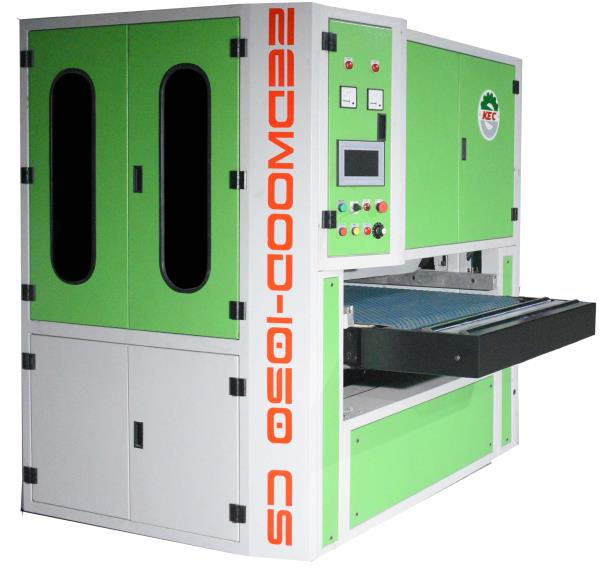 Hardwood Calibrating and Sanding Machine