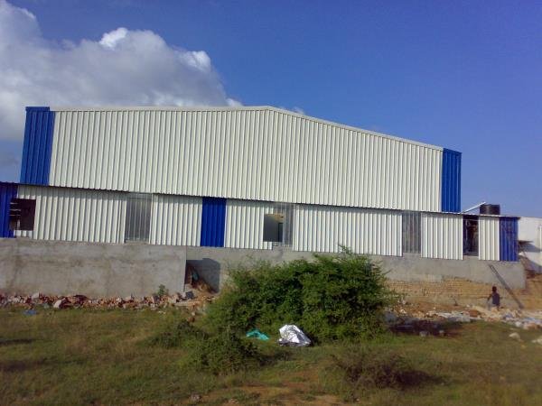 Best Industrial Roofing Contractors in Tamilnadu & Best Industrial Roofing Services in Tamilnadu.we are well experienced in Industrial sheds like Ware house sheds, Roof Extension sheds, Godown sheds, Security Sheds, and Generator sheds etc., some of our valuable customers  in Industrial sector - Hospira health care, Yapp india automotive,  super auto forging and TI automotive etc.,