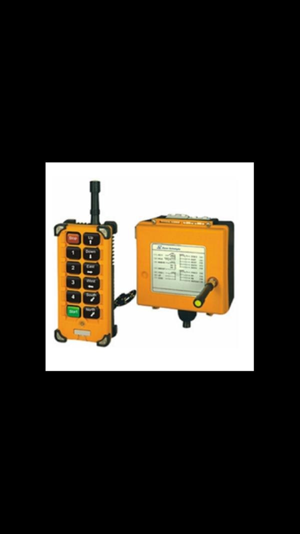 Radio Remote Control for EOT Crane supplier in Vadodara.