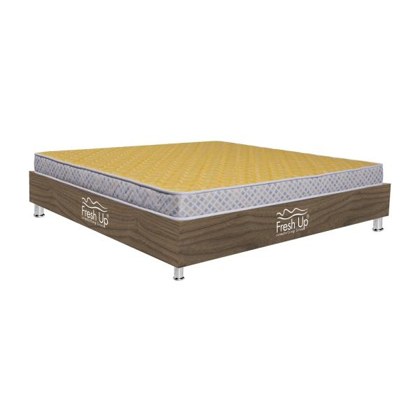 	An Orthopedic mattress suitable to provide relief to sore muscles. 	Pocket friendly	comfort meter: hard. 	Non-reversible mattress.	Warranty Period: 5 years	Material:  knitted fabricBuy Now: https://www.freshupmattresses.com