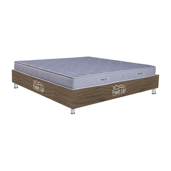 	A Pocket spring mattress providing absolute sound sleep to sensitive sleepers. 	Comfort meter: medium-hard firmness 	warranty period: 7 years 	Non-Reversible 	Material: Imported knitted fabric Buy Now: https://www.freshupmattresses.com