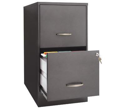 2 Drawer Steel Filing Cabinet