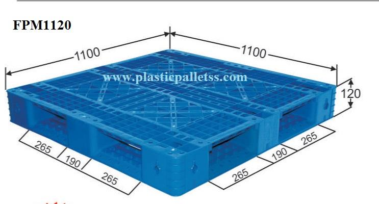 PLASTIC PALLETS BLUE