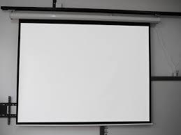 Wall Mounting Screen