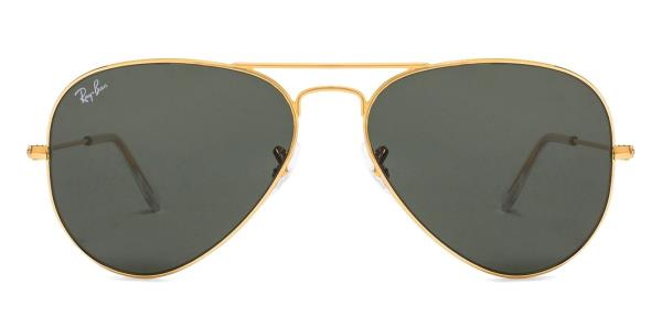 Ray-Ban RB3432 Medium (Size-59) Gunmetal Green 4 Men Sunglasses