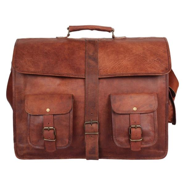 Large Brown Leather Bag M