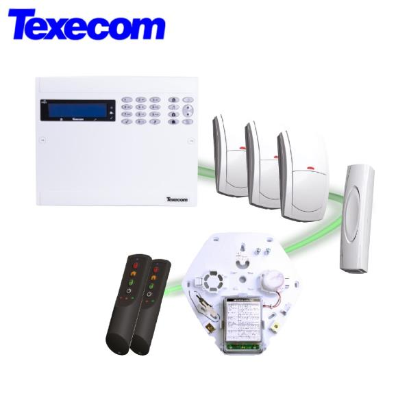 Texecom Intrusion Alarm System- Security System for Home office Showroom & Warehouses