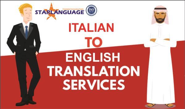 Italian Into English Translation Services