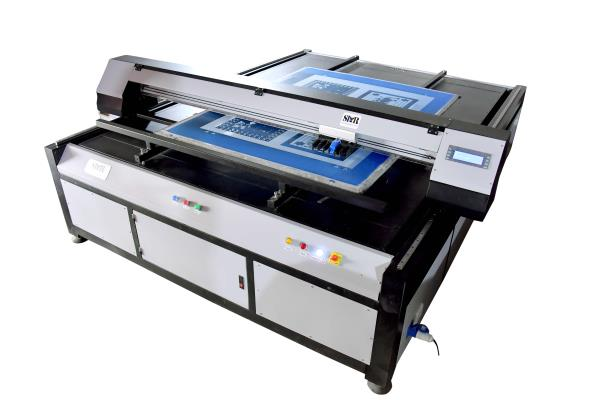 Thermal Technology				 				 The SMRTF-HS 59 offers the  Thermal 				  print head technology. The double row of print				 head with 416 nozzles print screen in black ink of 				 1200 dpi, and engraver using black ink, the 				  SMRTF-HS 59 is capable of printing in ultra-fine Dots,				 The Rotary one of the Highest Engraver on the 				  market today. But can printing width size 59 only, so 				 requirement small size screen print.				 Salient Features								 * Minimization of joint problems since the whole screen is exposed at one instance.								 * The quality of designs exposed are far superior to the film based exposing.								 * Reduction in step for screen preparation means faster output.								 * Cost reduction up to 30% is possible due to the minimization of screen rejection.								 * Faster preparation of repeat designs as no time is needed to locate the achieve films.								 * Minimization or elimination of registration issues.
