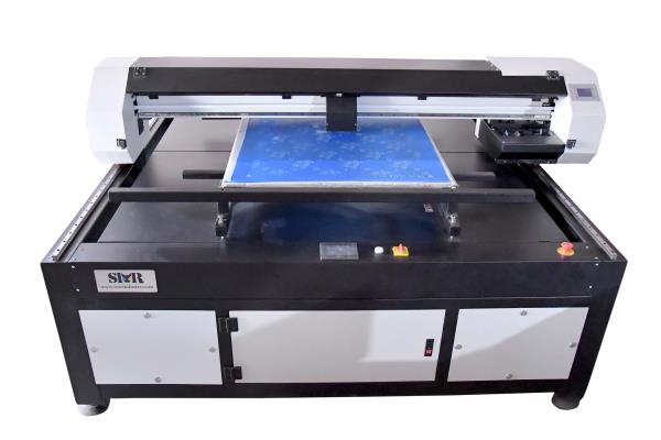 Piezo TechnologyThe SMRPF-72 offers the latest Epson DX5 MicroPiezo print head technology. The double row of printhead with 1440 nozzles print screen in black ink of 1440 dpi, and engraver using black ink, the SMRPF-72Series is capable of printing in ultra-fine variabledots from 1 politer to 21 politer, making this flatbed one of the highest inkjet engraver on the market today.Salient Features* Reduction in step for screen preparation means faster output.* Minimization or elimination of registration issues.* Minimization of joint problems since the whole screen is exposed at one instance.* Cost reduction up to 30% is possible due to the minimization of screen rejection.* Faster preparation of repeat designs as no time is needed to locate the achieve films.* The quality of designs exposed are far superior to the film based exposing.