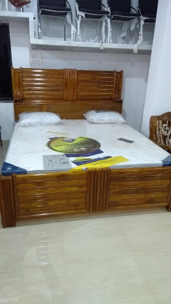 Teak Box Bed With Draw System Bhubaneswar India From Lingaraj Furnitures And Kamdhenu Traders