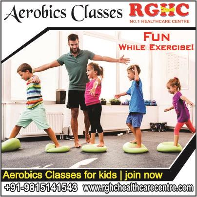 AEROBIC CLASSES FOR KIDS