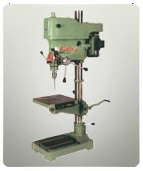 Our huge product basket commensurate to the International Quality Standards and thus, customers can rely on us for the quality. Being a Supplier of 32mm Pillar Drill Machine, we strive to deliver high quality and cost effective products in the market. Details :•	Drilling Capacity in Steel - 32 MM•	No. Of Spindle Speed - 115-210-325-520-660-1090-1750-2890•	Spindle Nose Taper - MT-4•	Spindle Center to column - 254 MM•	Spindle Travel - 305MM•	Maximum Distance Between Spindle to Table - 625 MM•	Maximum Distance Between Spindle To Base - 930 MM•	Working Surface of Table - 326 x 326 MM•	Working surface of Base - 347 X285 MM•	Column Diameter - 87 MM•	Base Of Machine - 570 X 365 MM•	Overall Dimension of M/C. - 1600 X 650 X 520•	Motor Speed - 1440 RPM•	Motor 3 Phase Induction A.C. - 2 H.P.•	Weight Of Machine (Approx) - 300kg.