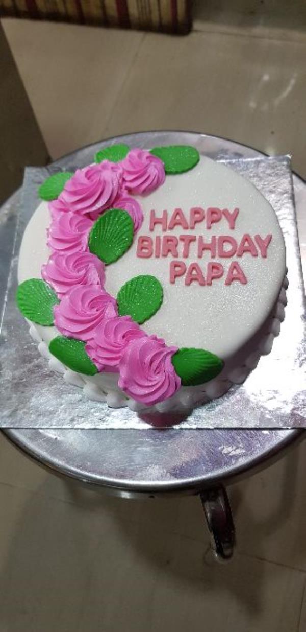 Fondant Cake - Rose