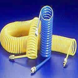 RETRACTABLE PU COILED HOSES