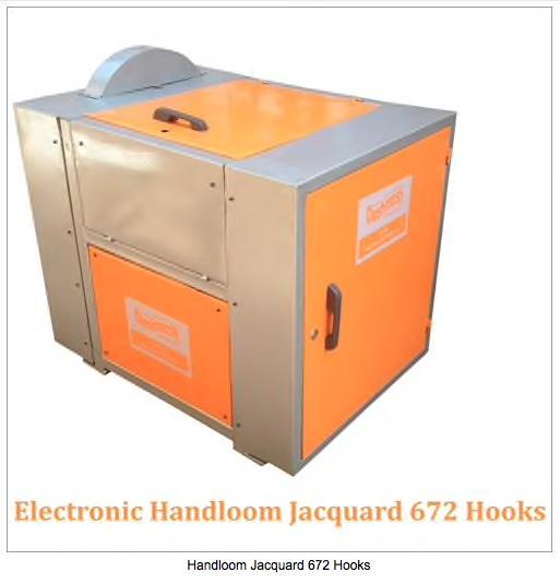 Handloom Jacquard 672 Hooks