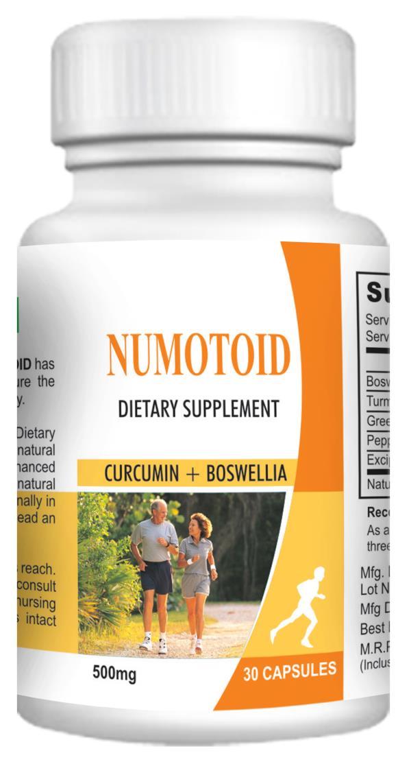 Numotoid - Joint Nutrition - 30 Supplement Capsules