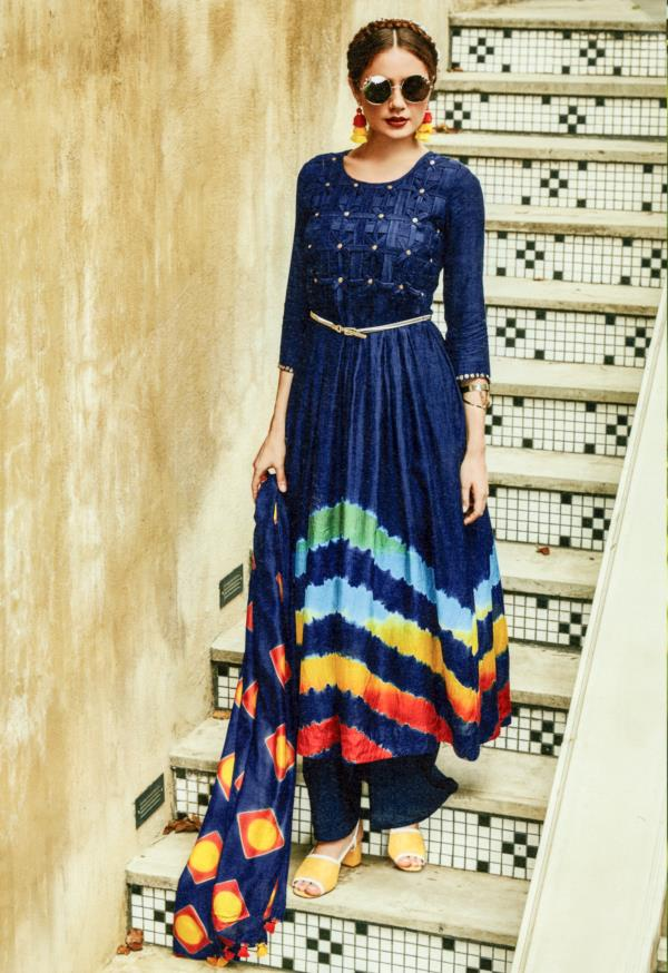 Its not what you wear its how you wear it! Throw away your Dupatta and bottom, turn it into a Maxi Dress. We let you make the choice with our Multi Purpose Long Dresses.