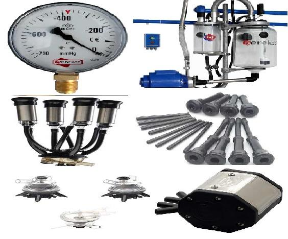 Spare Parts Of Milking Machines
