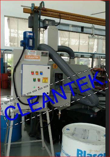 Cleantek manufacturing oil mist collector for to extract the oil mist fumes developed inside the CNC machines.