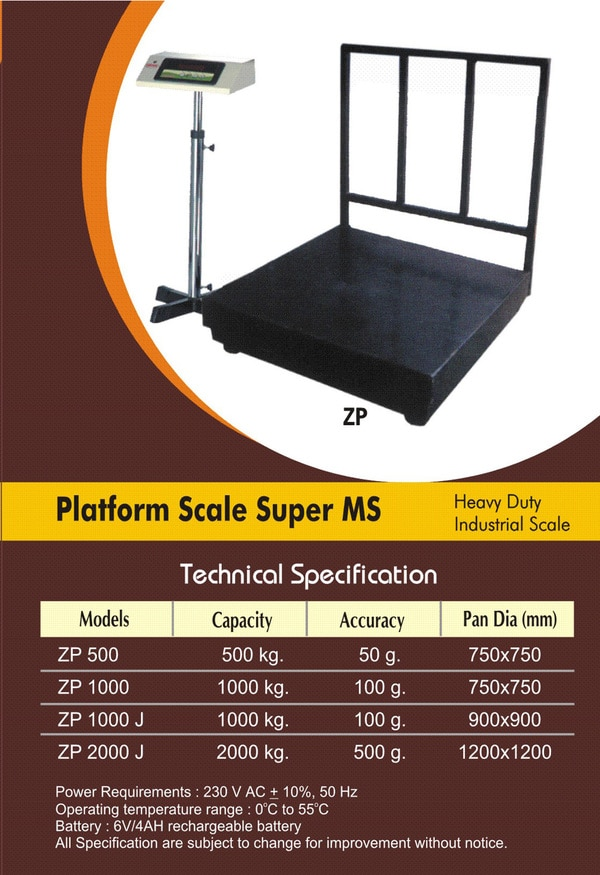 platform scale super ms