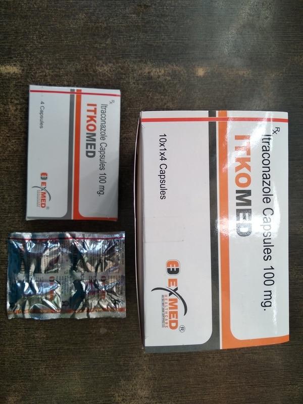 itkomed capsules 100 mg