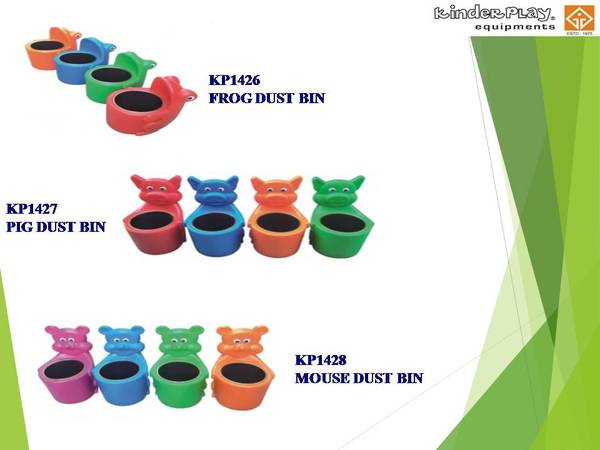 Animal Shaped Dustbins