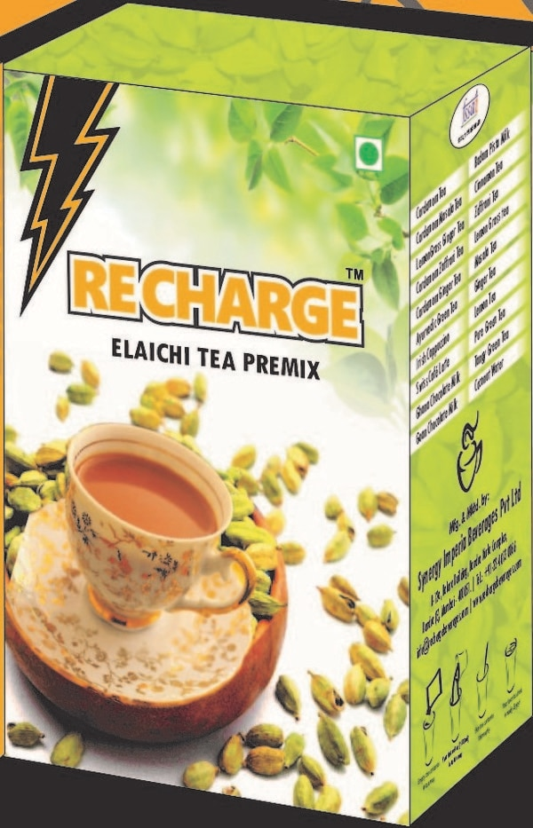Cardamom tea premix 3 in 1