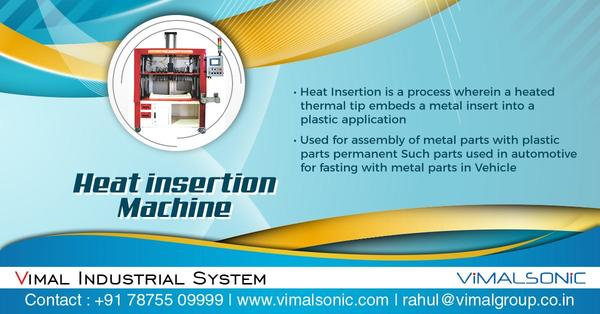 Heat Insertion Machine