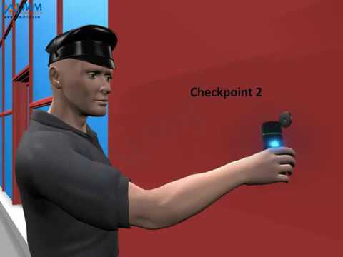Guard Patrol Monitoring System- RFID Reader Device with Software for Reporting