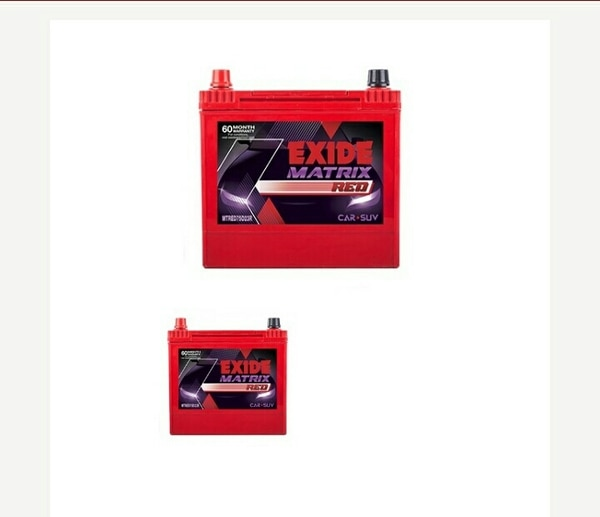 Exide MT RED45L With Old
