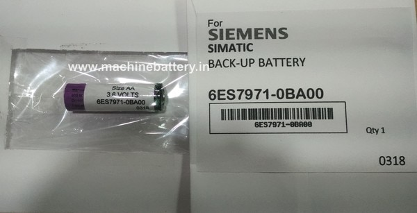 Siemens Backup battery 6ES7971-0BA00