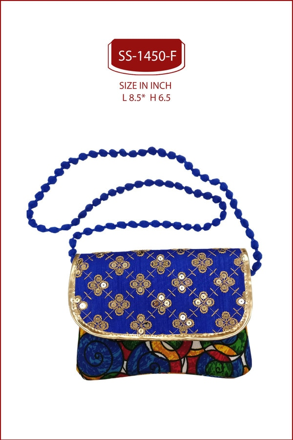 ETHNIC SLING BAG.SLING CUM CLUTCH BAGS