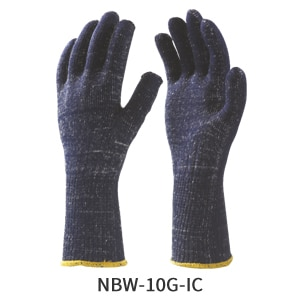 Feature BenefitMade Synthetic Nylon or Polyamide texturised/ stretch yarn for more wearing comfort & soft feel. The Nylon offers more sensitivity & ease at finger tips & less lint reduces the chance of contamination of material handled. The gloves in 13 & 15 gauge offer more lighter & sensitivity of finger tips recommended for precision work. These gloves are available in different colours options like White, Blue, Black, Grey etc.. & sizes options from M to XL. The Nylon/Cotton Plated Gloves made to increase protection & also to provide wearing comfort to absorbe perspiration.