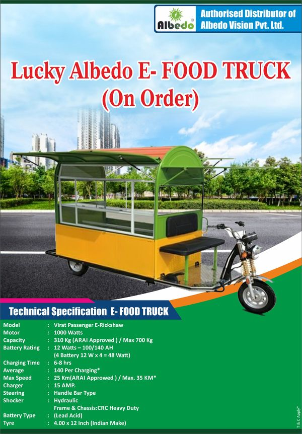 Lucky Albedo E-Food Truck (Only Chassis + Modify)