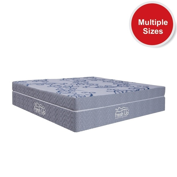 - A Luxury Foam mattress made of  premium quality Pure Memory Foam layering the high density Pure HR foam beneath it. - Firmness: medium soft - Reversible mattress. -Warranty: 10 years -Fabric: imported knitted fabric  *Available in all sizes  Buy Now: https://www.freshupmattresses.com/diffuse.html
