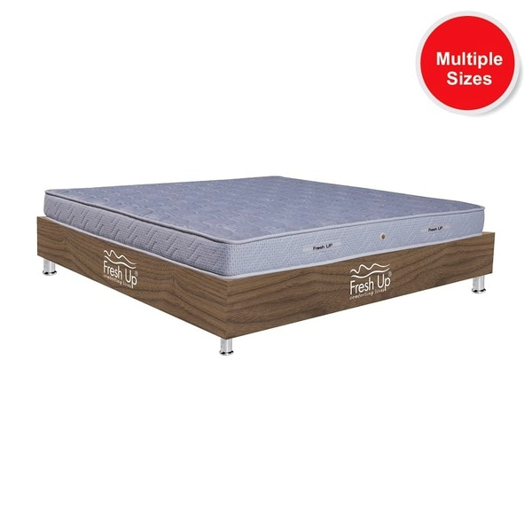 	A Pocket spring mattress providing absolute sound sleep to sensitive sleepers. 	Comfort meter: medium-hard firmness	warranty period:  7 years	Non-Reversible 	Material: Imported knitted fabricBuy Now: https://www.freshupmattresses.com