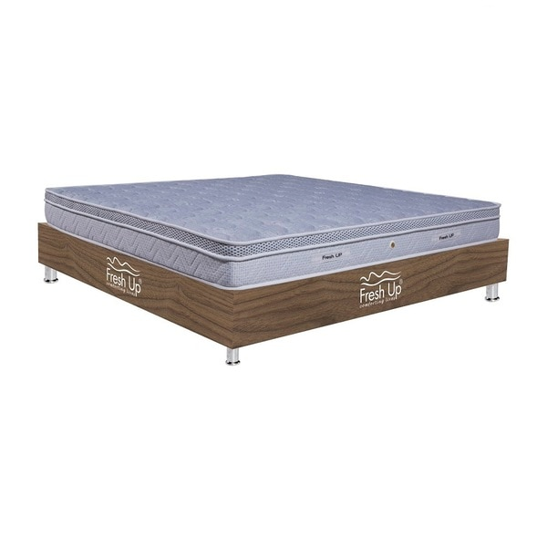 - A European style mattress having pocket springs. Pocket springs are individually encased springs which do not cause motion to the adjacent springs, thereby  producing no disturbance upon tossing on the mattress. - comfort meter: medium. - Non-reversible mattress - Warranty period: 7 years - Mattress Cover:  knitted fabric  *Available in all sizes