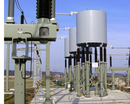Power Reactors :   The Current Limiting Reactor is used to prevent short-circuit current level and reduce it to the allowable current. Our Current Limiting Reactor reduces the stresses on circuit breakers, insulators, bus bars and other H.T. devices. These Current Limiting Reactors are also used as Load balancing reactors for load sharing in parallel circuits. Our Current Limiting Reactor is also used as bus tie reactors installed between two different bus systems, & as capacitor inrush current limiting or damping reactors.