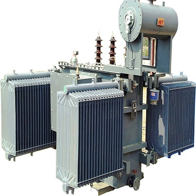 Distribution transformers are exclusively used for supplying power to end users. We offer distribution transformers of various ratings from 25 KVA to 1600 KVA upto 33 KV. Our transformers are are widely used by industrial sector, State electricity boards and housing complexes, Govt Schemes like ORC, Ag. Pump, GFFS etc. We also undertake manufacture of Low loss 3 Star rating transformers. Our range also includes transformer with On load Tap Changer with Automatic Voltage regulator for use in areas where Voltage variation is high. Our distribution transformer are tested at ERDA Baroda for Short circuit and Impulse Voltage Level. Our distribution transformers are appreciated by the clients from all over India for their robust and reliable construction.