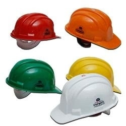 Made of specially formulated polymer which gives increased strength.ISI & DGMS approved.The head band is made up of non irritant & soft fabric to provide maximum comfort to the user.Helmet is provided with an adjustable chin strap for universal adjustment.Also available Cotton fitting and Loader helmets.Helmet is provided with an adjustable chin strap for universal adjustment.Also available Cotton fitting and Loader helmets.Available in variety of colours.        Used in:Engineering industryPaint industryElectronic industryAutomobile industryFabrication industryChemical industry