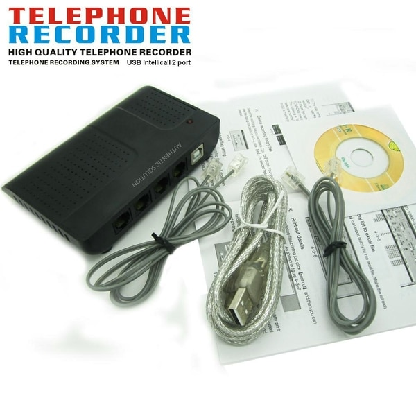 4 Port Telephone Voice Logger
