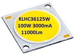 COB LEDCeramic (100 Watts) Prices at astonishing below Rs.7 per watt. LEDchip Indus is offering a huge range of COB LEDs KLHC3650W for 35-50W, KLHC3609W for 6-9W, KLHC3622W for 10-22W & also KLHC3699 for 100Watts !. Prices at astonishing belowRs7 per watt ! These LEDs have ceramics plus metal material with high thermal conductivity as the substrate and adopt silicon injection molding technology with good impervious performance, high reliability and very low degradation rate.COB POWER LEDs have very low thermal resistance long lifetime over 50000hrs. These LEDs are most applicable for general lighting sources and luminaries & can be operated with max junction temperature of 115°C.  website visite www.ledchipindus.com
