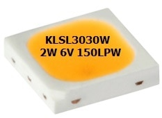 Ledchip Indus introduces yet another product enhancement for the 3030W 2Watt 350mA LEDs in 260/270Lumens  , this bring our 3030W Power SMD LED on par with world class LED Brands yet with affordable Indian price. KLSLS3030W CRI 80 350mA LEDs in 260/270 Lumens deliver exceptional brightness thanks to the specially designed lead frame profile and improves heats dissipation of the device. Devices using LEDchip Indus's SMD KLSL3030W CRI80 350mA LEDs can be used for applications with higher currents thanks to their low thermal resistance rating. The 350mA ratings  is very convenient for designing drivers and can be used with any 0.5W LEDs like 5630W & 2835W. What's more, the same driver can be used & number LEDs halved LEDs in soldering costs itself. LEDchip Indus  Power LEDs 2Watt 3030 CRI80 White Color Emitting 270 Lumens at 350mA - 4000 pieces website visite www.ledchipindus.com