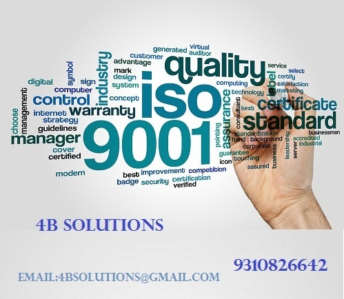 ISO 9001 certification is