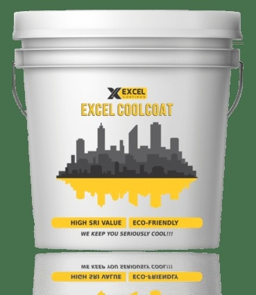 It contains addition enhancers which provides excellent addition property across variety of surfaces. It contains reinforced microfibers for excellent waterproofing & crack resistance. It is time tested, field proven & highest exported Heat Reflective Coating from India.