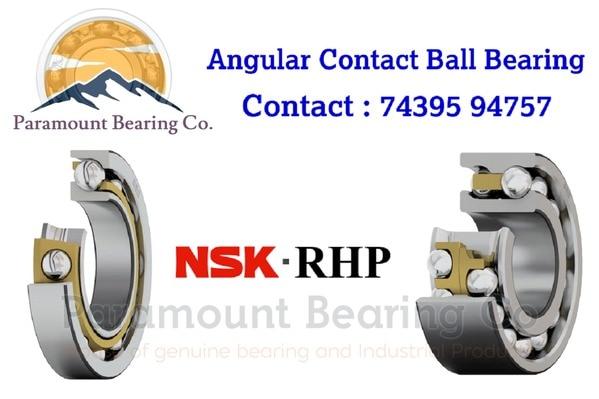 Angular Contact Ball Bearings  ID : 25 MM OD : 62 MM WIDTH : 15 MM BRAND : NSK